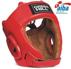 Шлем FIVE STAR с AIBA, Красный Green Hill